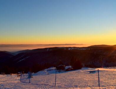 Ore Mountains sunrise