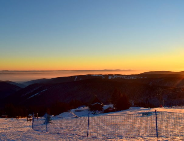 Ore Mountains sunrise
