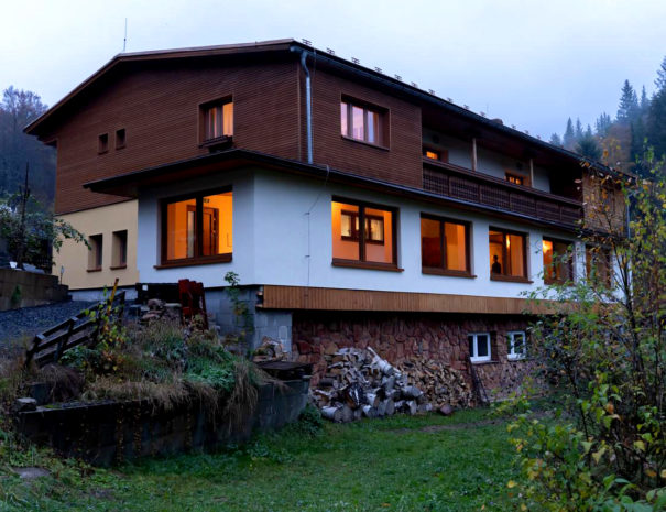 Accommodation in Ore Mountains in Jachymov